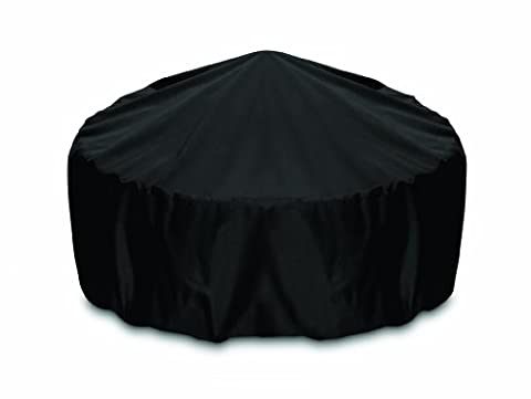 Smart Living Fire Pit Cover, 36-Inch, Black 2D-FP36001, By Two Dogs Design, Includes Level 4 UV (Two Dogs Designs Fire Pit Cover)