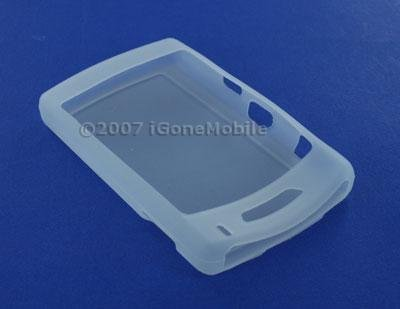 Blackberry 8800 PDA Silicone Protection Skin Case - Clear