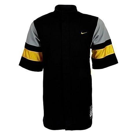 Nike Baloncesto Shooting Camiseta 137324 - 010, Negro, Small ...