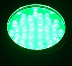 WDM Lighting LED Colorwater 36 Green Submersible - -