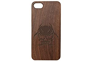 Apple iPhone 7 & 8 Black Walnut Wood Phone Case NDZ - Choose Your Design