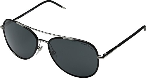 burberry-mens-0be3078-silver-matte-black-grey-sunglasses