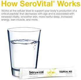 SeroVital Rapid Dissolve Powder, 30 Ct, Tropical Mix 6