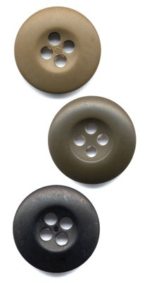 Rothco Bag of 100 B.D.U. Buttons, OD ()