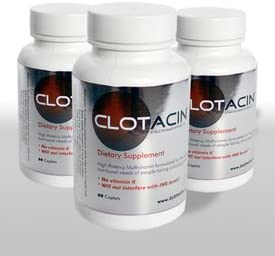 Clotacin Multivitamin Without Vitamin K 60 Count – Pack of 3