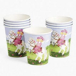 Pink Cowgirl 9Oz Cups (8 pieces) - Bulk by FX