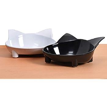 Amazon.com: A di Alessi Tigrito Cat Bowl, Yellow: Kitchen