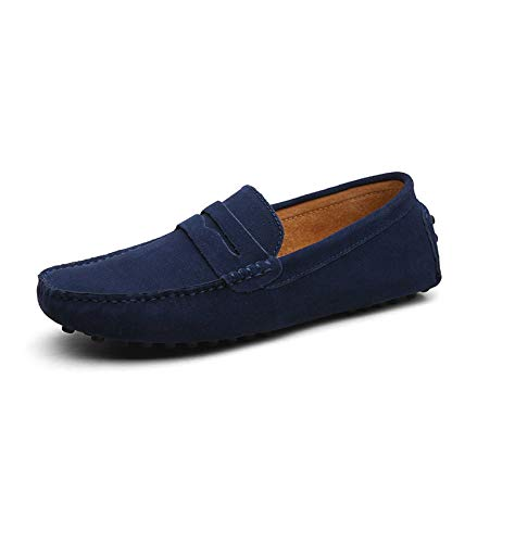 WC-hot Soft Moccasins Men Loafers Genuine Leather Shoes, used for sale  Delivered anywhere in Canada