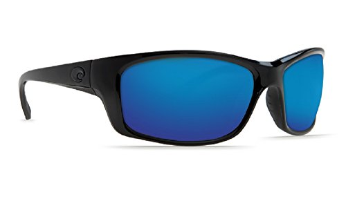 Costa Del Mar Jose Sunglasses  Blackout  Blue Mirror 580 Glass Lens