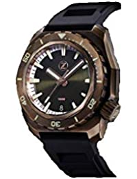 Bronze Green Olive Diver 1000M Limited Edition 100 Mens Watch · Zelos Hammerhead