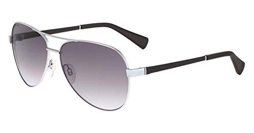 Cole Haan Women's Ch7000s Aviator Sunglasses, Light Gunmetal, 59 - Cole Haan Sunglasses Aviator