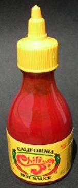 Just Chili (California Hot Sauce) - 1 bottle