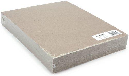 Grafix Medium Weight Chipboard Sheets, 8.5 X 11 Inches, Natural, 25-Pack [並行輸入品]   B07T9S2FL3