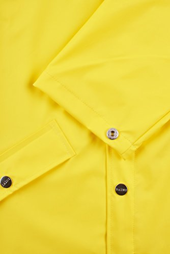 Impermeable Rains Jacket para Amarillo Hombre n8Sq0qx4w