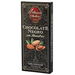 Chocolate Negro con Almendras (200 g) - El Barco Delice: Amazon.es: Alimentación y bebidas