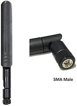 Huawei B310 B315 b310s b315s LTE CPE de conexión plano hoja antena 3db 700 ~ 2700 MHz SMA macho conector 3 G 4 G LTE multi-Band giratorio