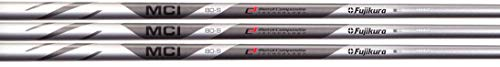 Fujikura MCI 80 Graphite Iron Shafts 3-PW, Set of 8 Shafts (Choose Flex) (Regular)