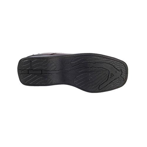 Lace Black Ladies Shoes Black 8 6 7 4 Lined up brown 5 Cotswold Size Textile 3 H6wqdHR
