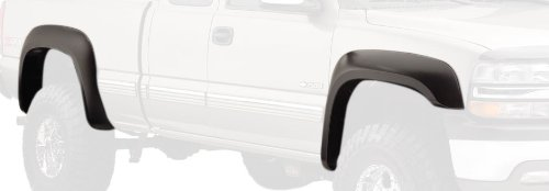 Bushwacker 40945-02 Chevrolet/GMC Extend-A-Fender Flare - Set of 4