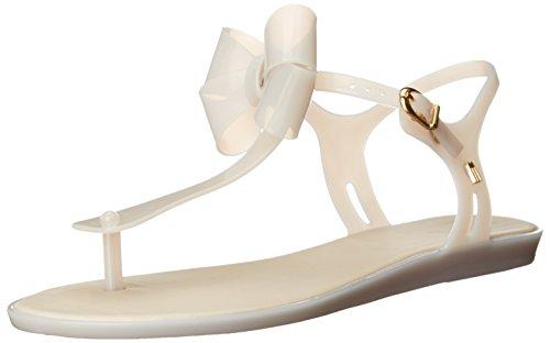 Melissa's Women's Solar Iii Jelly Sandal, White/Milk, 9 M US