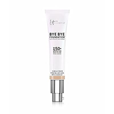 IT COSMETICS Bye Bye Foundation SPF 50+ Full Coverage Moisturizer (Tan) 1.08 oz