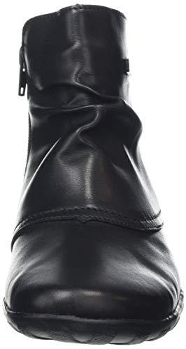 Para R3494 schwarz Botines Negro 01 Mujer Remonte q70ERTR