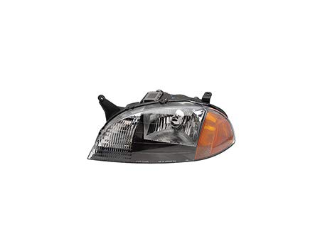 Fits 1998-2001 Chevrolet Metro Head Light Driver Side Assembly Unit GM2502166 - replaces 98-99/01 91175607