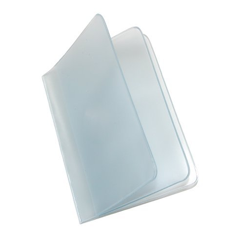 Buxton Vinyl Window Insert for Bi Fold and Tri Fold Wallets, Transparent, Regular