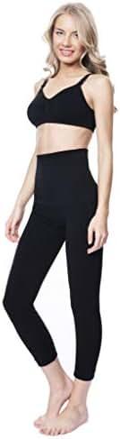 MOTHERS ESSENTIALS High Waist Tummy Compression Control Slimming Leggings