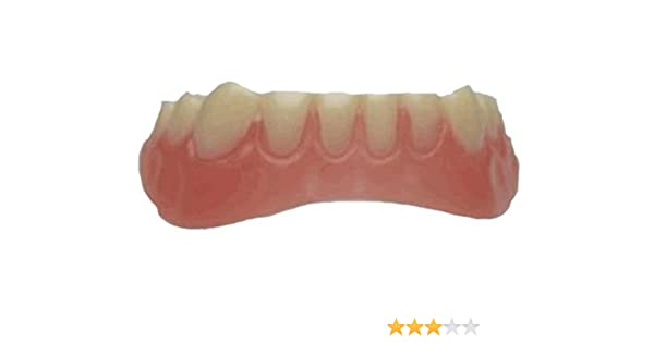 Billy Bob Secure Smile Novelty Temporary Cosmetic Lower Teeth Makeover Toy