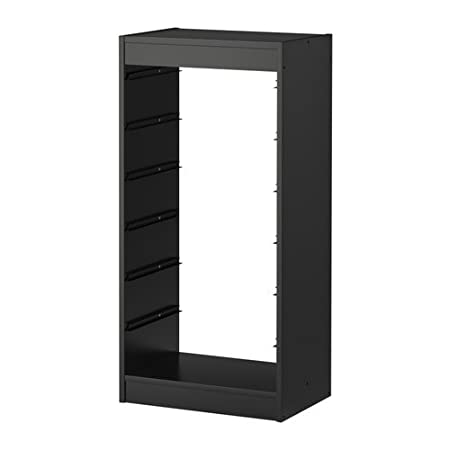 IKEA TROFAST - Frame, black - 46x30x94 cm: Amazon.co.uk: Kitchen & Home