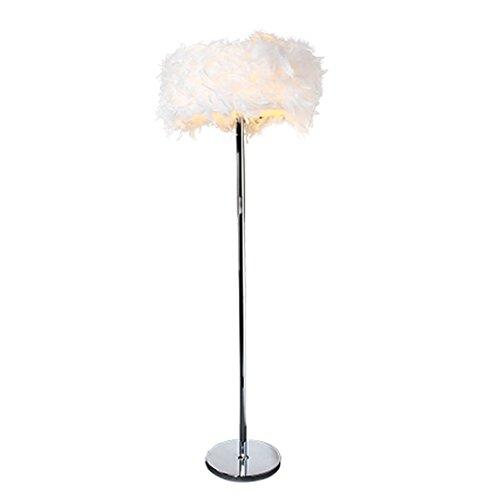 MOMO Stehlampe Stehlampe, Feder Stehlampe Einfache Moderne Nachttischlampe  Wohnzimmer Schlafzimmer Vertikale Tischlampe, Hochzeit Licht