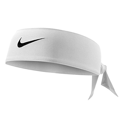 Nike Dri Fit Head Tie White by Nike (Image #1)