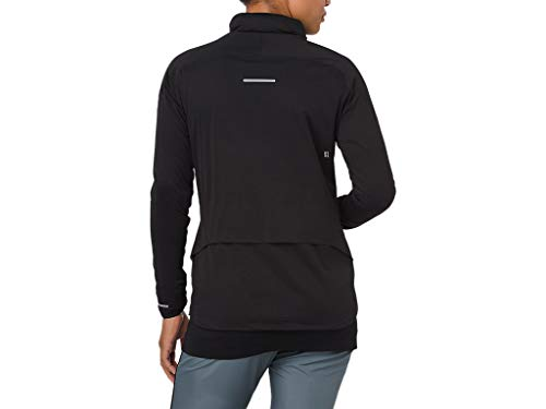 ASICS 2012A018 Women's System Jacket, Performance Black, Large by ASICS (Image #2)