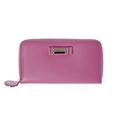 Emporio Armani Women's Wallet YEWH45 Pink, Large