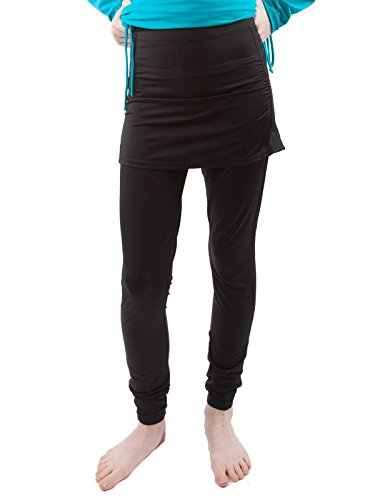 Al Sharifa Skirted Swim Pants: Full Length Leggings with ...