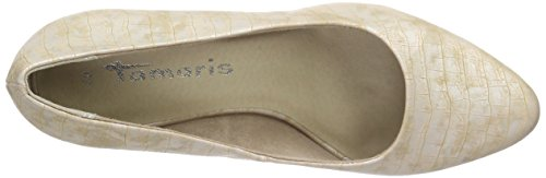 Beige Pumps 22430 Tamaris Damen Copper Struct xna8Sqw