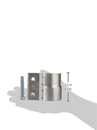2-1//2 Aluminized Mega Clamp 33976 Walker