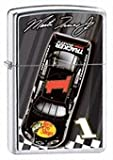 Zippo Lighter Martin Truex #1Car Top View, High Polish Chrome