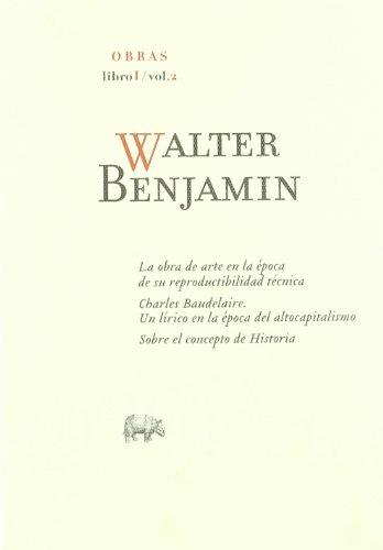 Descargar Libro Obras:  O.c Libro I/vol.2: 3 Walter Benjamin