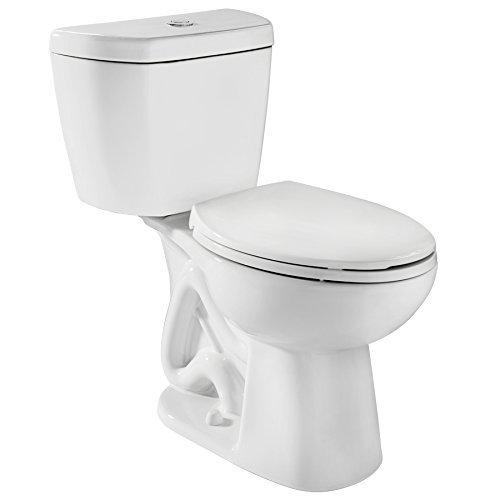 Niagara 77002WHCO1 Stealth 0.8 GPF Toilet with Round Bowl and Tank Combo, White
