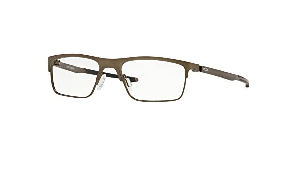 4c5d7c81a61a2 OAKLEY 0OX5137 - 513702 Eyeglasses PEWTER 52mm at Amazon Men s Clothing  store
