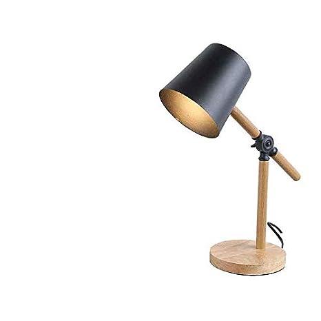 Lámpara de escritorio Lámpara de sobremesa de hierro forjado ...