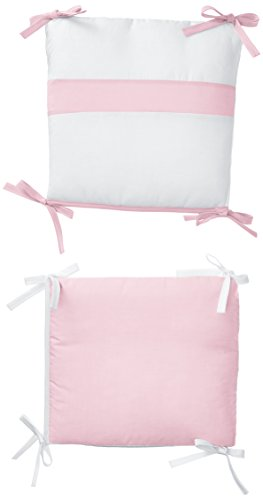 Baby Doll Bedding Junior Rocking Chair Cushion Pad Set for Child/Toddler Rocker, Pink