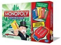 Monopoly Juego de mesa de banca electrónica de Hasbro Gaming: Amazon.es: Bebé