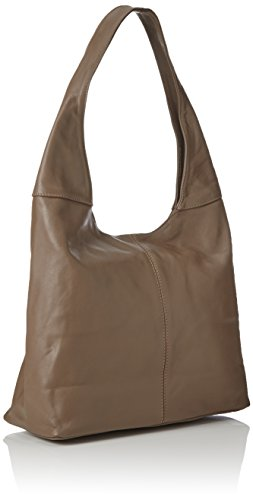 Rubin Bags4less A Tracolla E Shopper Donna Borse taupe Marrone ZRRwBqa