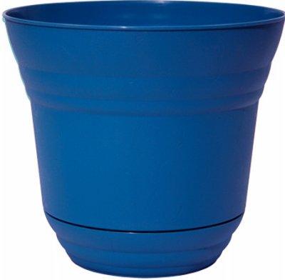 - Robert Allen PIM01229 Traverse Flower Pot Planter, 14-Inch, Sapphire Color