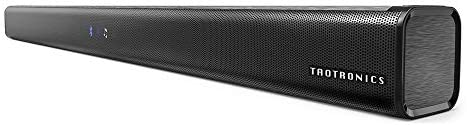 Soundbar, TaoTronics Three Equalizer Mode Audio Speaker for TV, 32-Inch Wired Wireless Bluetooth 4.2 Stereo Soundbar, Optical Aux RCA Connection, Wall Mountable, Remote Control