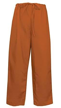 Burnt Orange Scrubs Pants BOTTOMS Lg Burnt Orange - Apparel Scrubs For HIM or HE