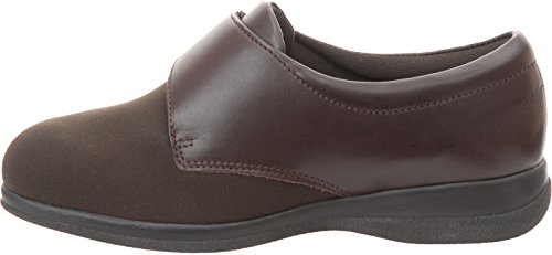 Cosyfeet Karen Shoes - Extra Roomy (Eeeee+ Width Fitting) Brown Elastane/Leather jLkv18Zt0